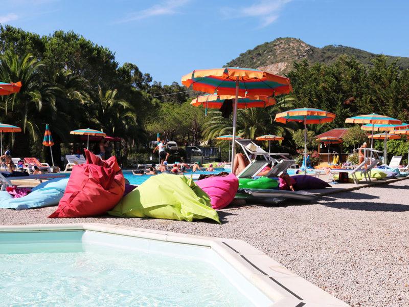 Overzicht zwembad - Campeggio del Garda, Glamping.nl
