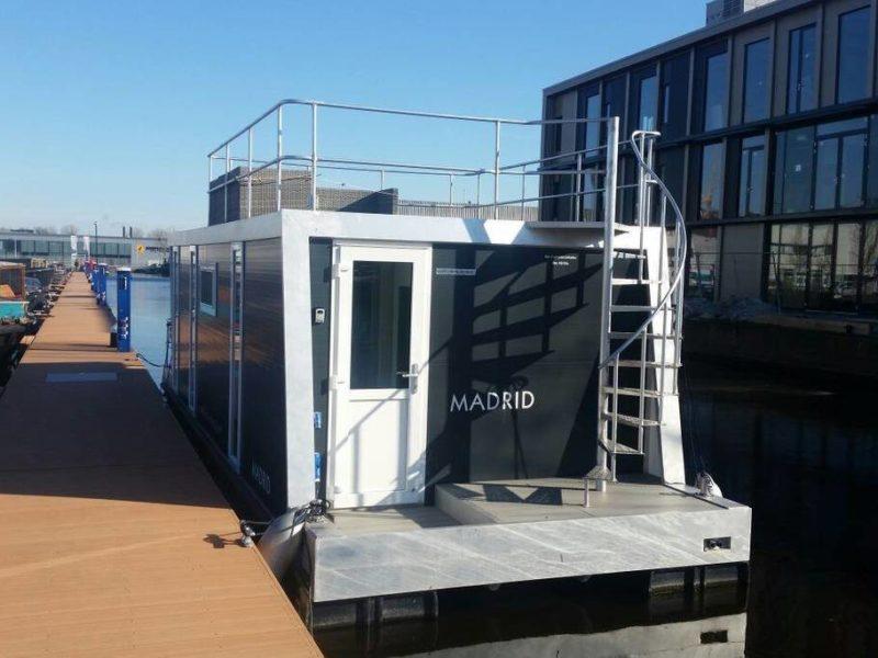 Havenlodge jachthaven Amsterdam - Marina Parcs Tineke Bakker