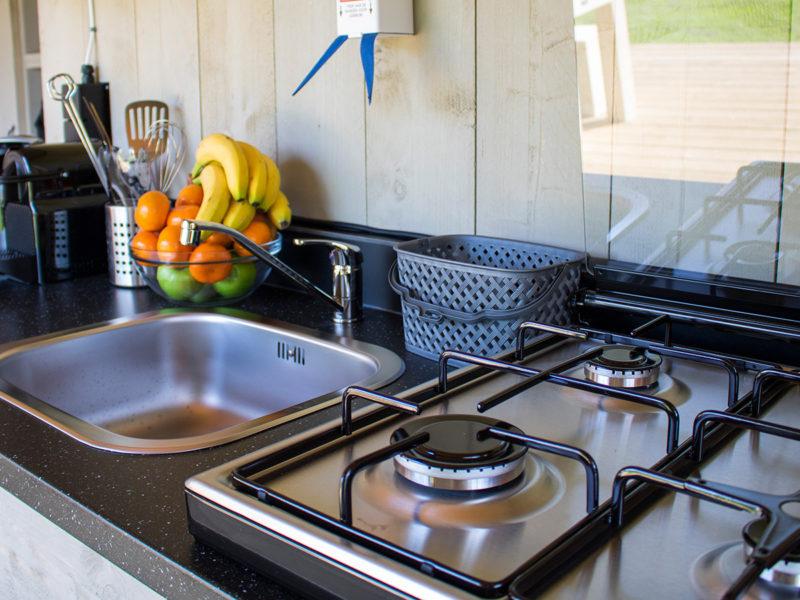 Keuken - Villatent La Chiocciola, Glamping.nl