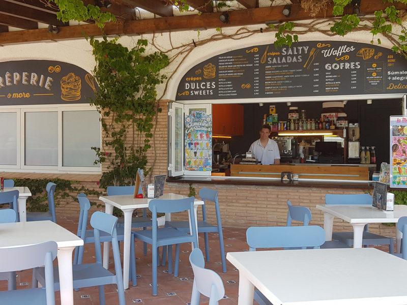 Restaurant/snackbar - Nautic Almata, Glamping.nl