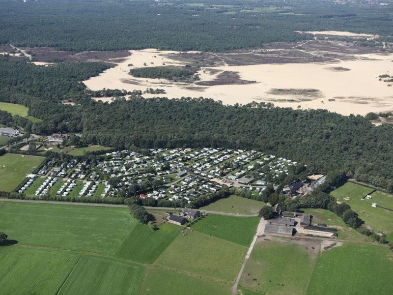 Overzicht camping - Recreatiepark Duinhoeve, glamping.nl