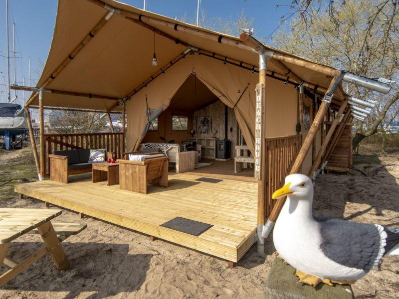 Safaritent XL - Marina Parcs, Marina Muiderzand - Glamping.nl