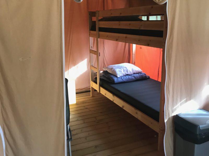 Slaapkamer safaritent - Smaland Miniglamping