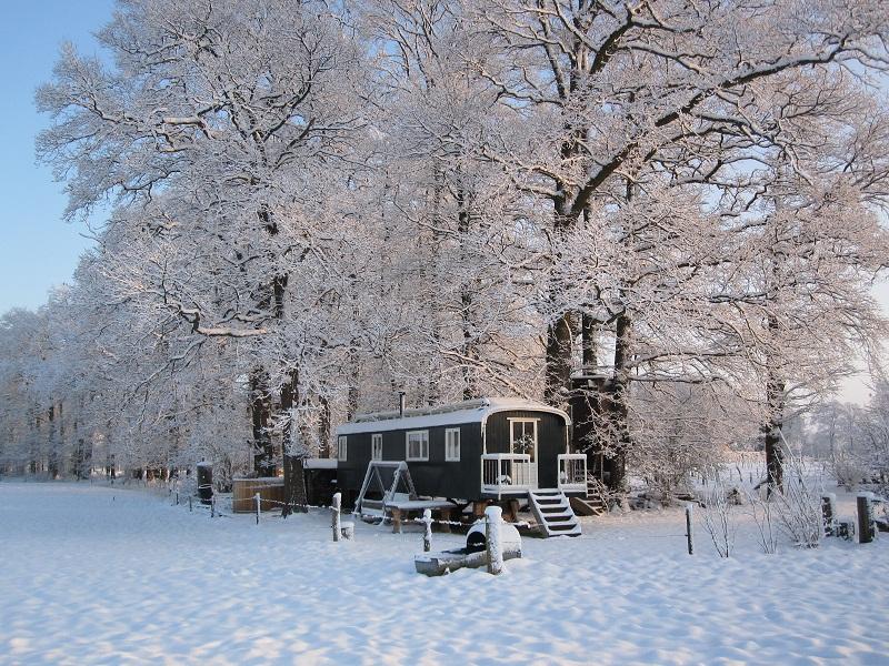 Winteroverzicht - De Kleine Wildenberg, glamping.nl