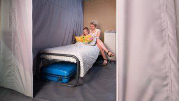 Slaapkamer lodgetent deluxe - Le Clou, Glamping.nl