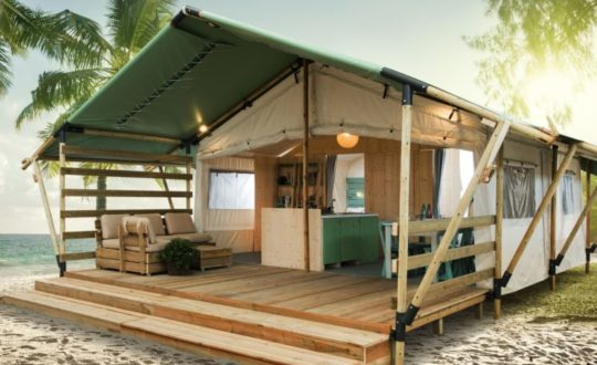 De mooiste luxe lodgetenten op Santa Marina Camping Boutique