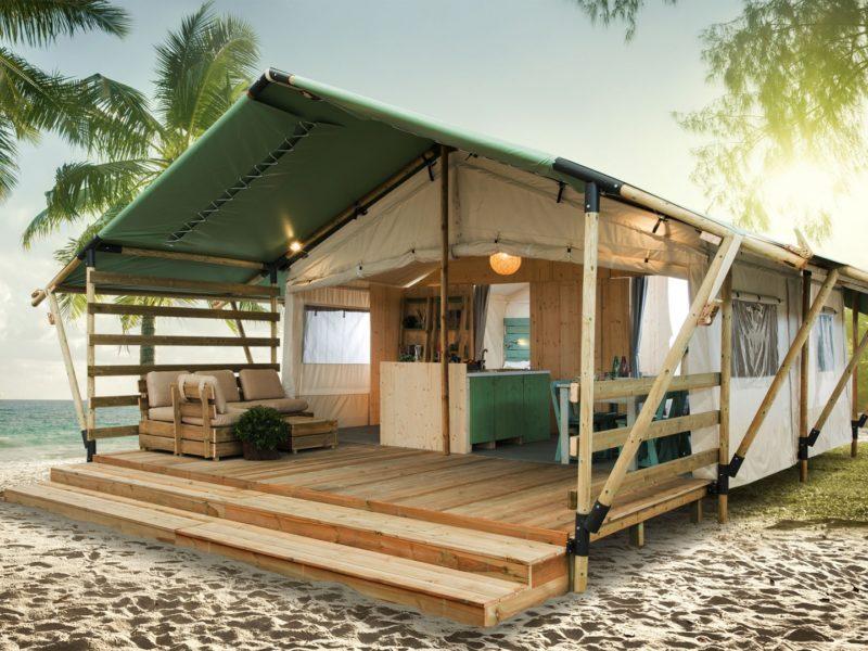 Lodgetent country - Santa Marina Camping Boutique, glamping.nl