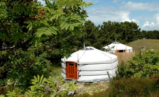 Bijzonder en sfeervol overnachten bij Texel Yurts
