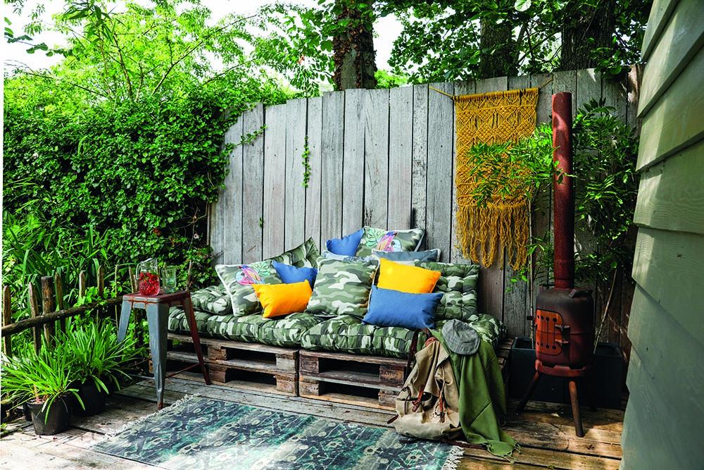 Pallettuinkussens - Haal het glampinggevoel naar je eigen tuin