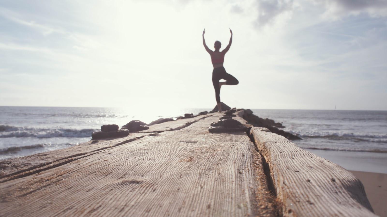 Ontspannen en ontstressen op vakantie - yoga
