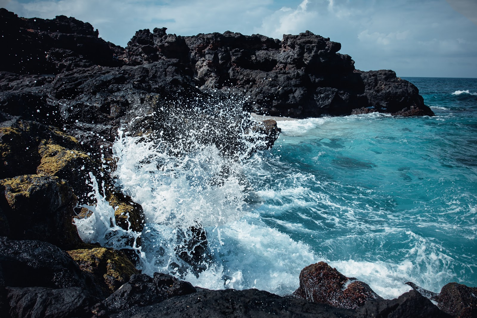 Ontspannen en ontstressen op vakantie - het geluid van de zee