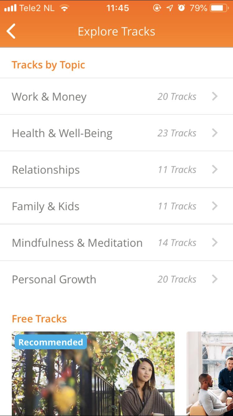 Ontspannen en ontstressen op vakantie - Happify app