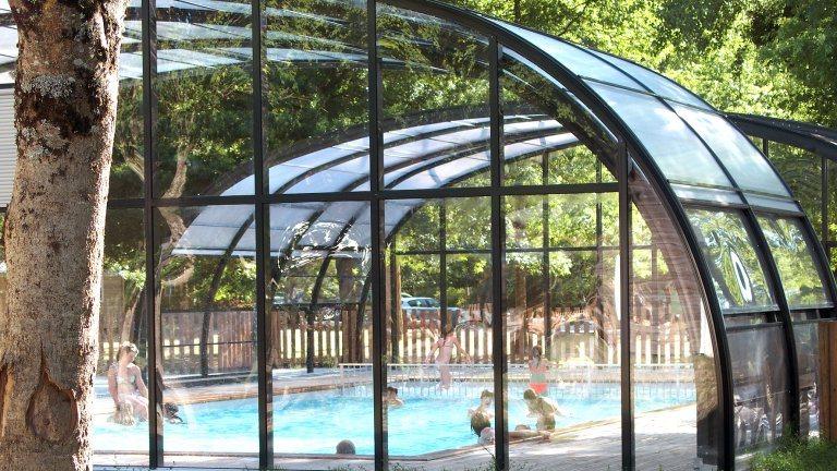 Overdekt zwembad - Les Châteaux