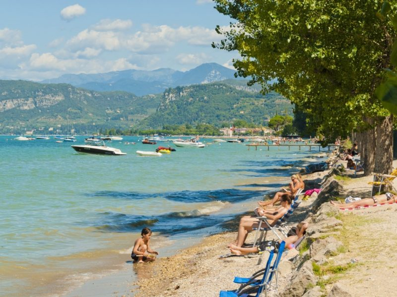 Cisano San Vito strand