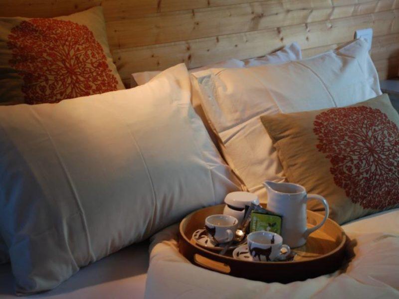 Bed Perché dans le Perche via Glamping.nl