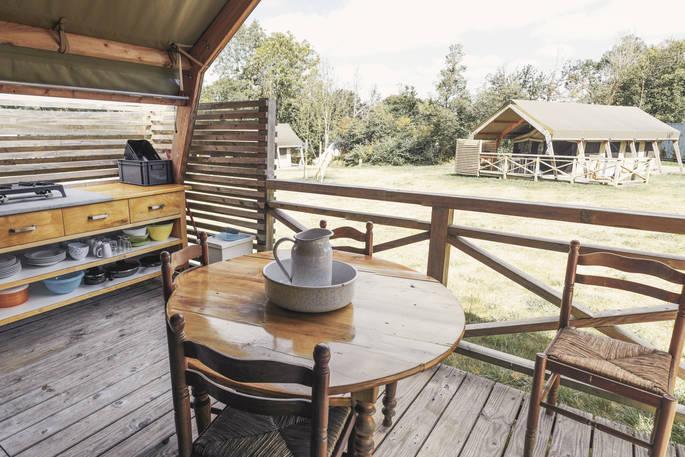 Veranda safaritent - Bot-Conan Lodge
