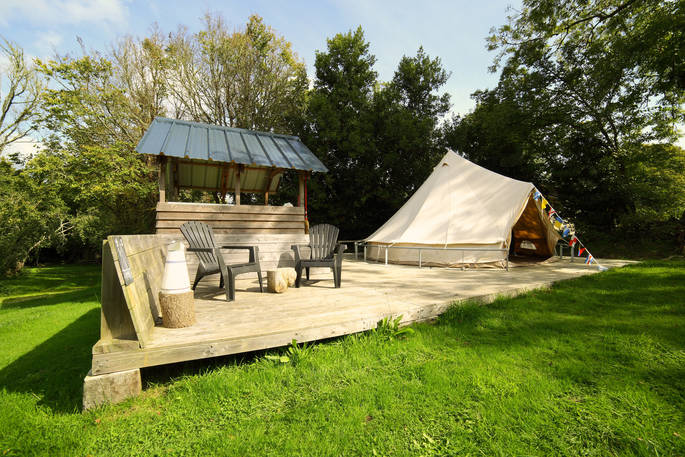 Bell tent - Bot-Conan Lodge