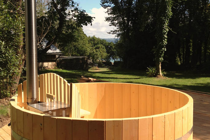 Hot tub - Bot-Conan Lodge
