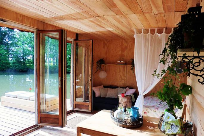 Interieur Caru Cabin via Glamping.nl