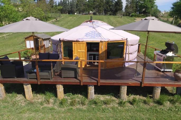 Yurt Leccio del Corno Yurt