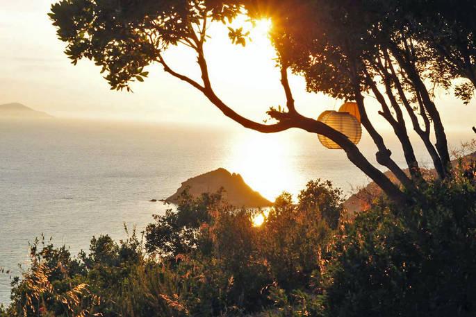 Uitzicht (2) La Casetta Sul Mare via Glamping.nl