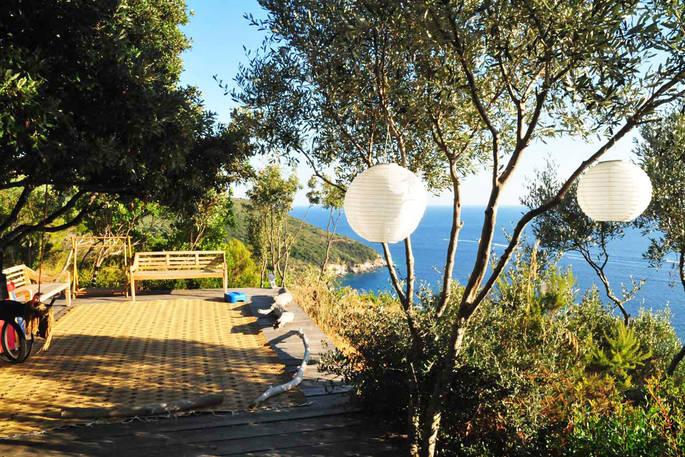 Uitzicht La Casetta Sul Mare via Glamping.nl