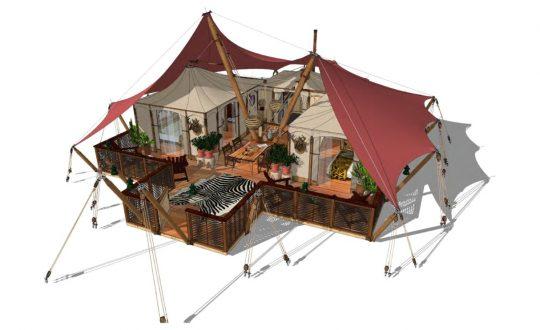 De Gotland Lodge: Zo luxe kan glamping zijn