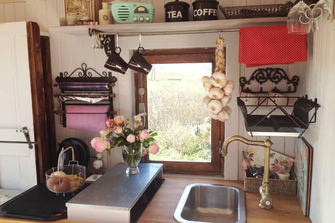 Keuken Cabin - La Cambuse