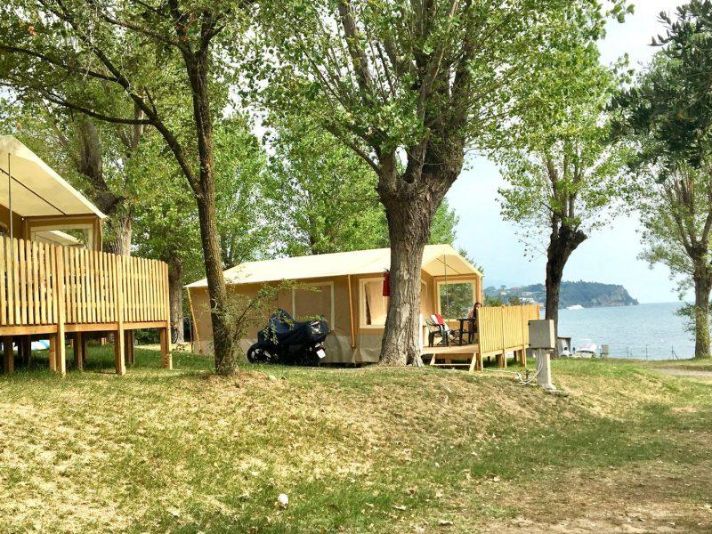 Lodgetenten aan het meer - Vacanze col cuore