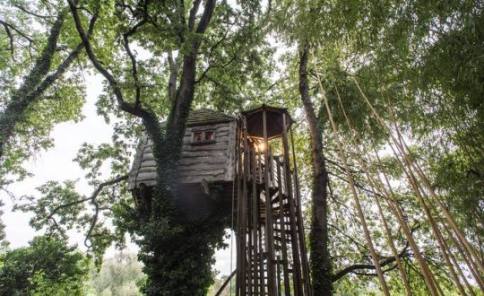 Gauthié Treehouse Cabin - Glamping.nl