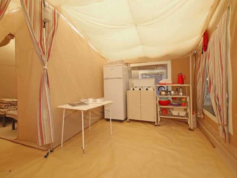 Glamptent interieur - Lago Idro Glamping Boutique