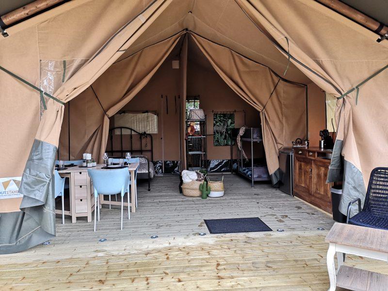 Veranda Safaritent - La Belle ST-Fli - Glamping