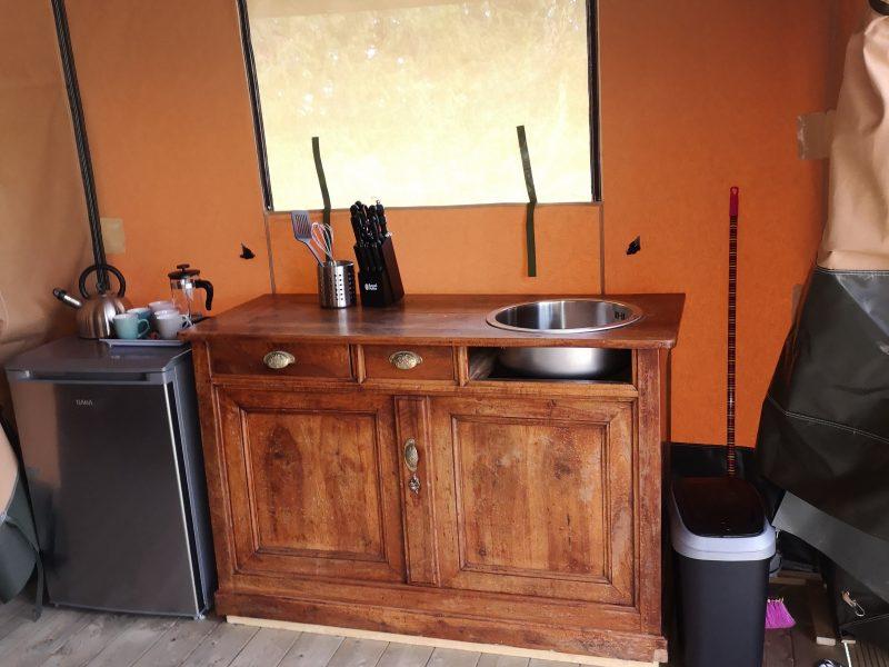 Keuken safaritent - La Belle ST-Fli - Glamping