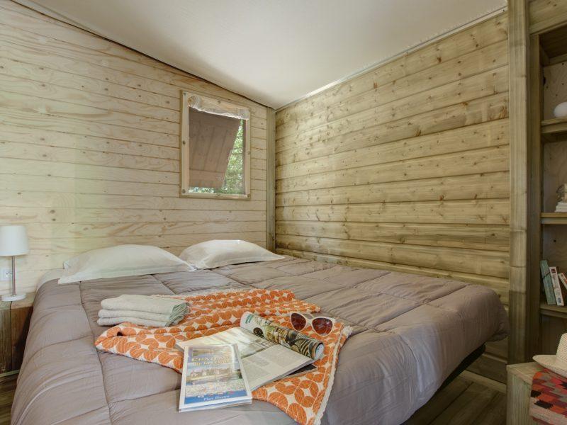 Slaapkamer cabane - Glamping Parc du Val de Loire