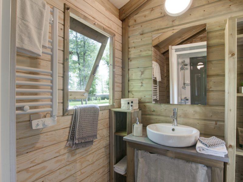 Badkamer cabane - Glamping Parc du Val de Loire