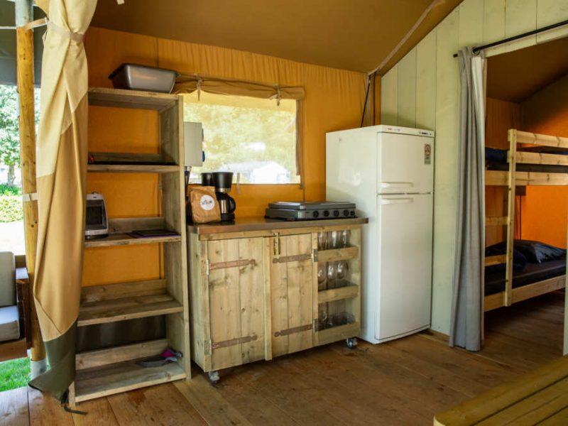 Keuken safaritent - Donnersberg