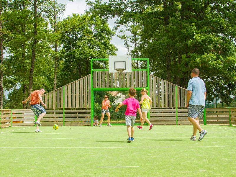 Multisports veld - Glamping Parc du val de Loire