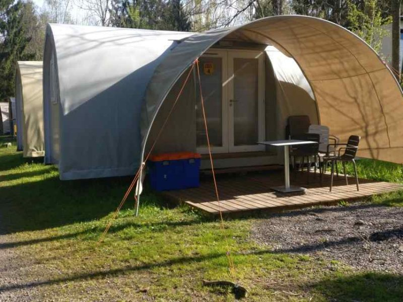 Coco Sweet op glamping Olympia
