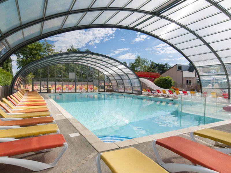 Overdekt zwembad - Glamping Parc du val de Loire