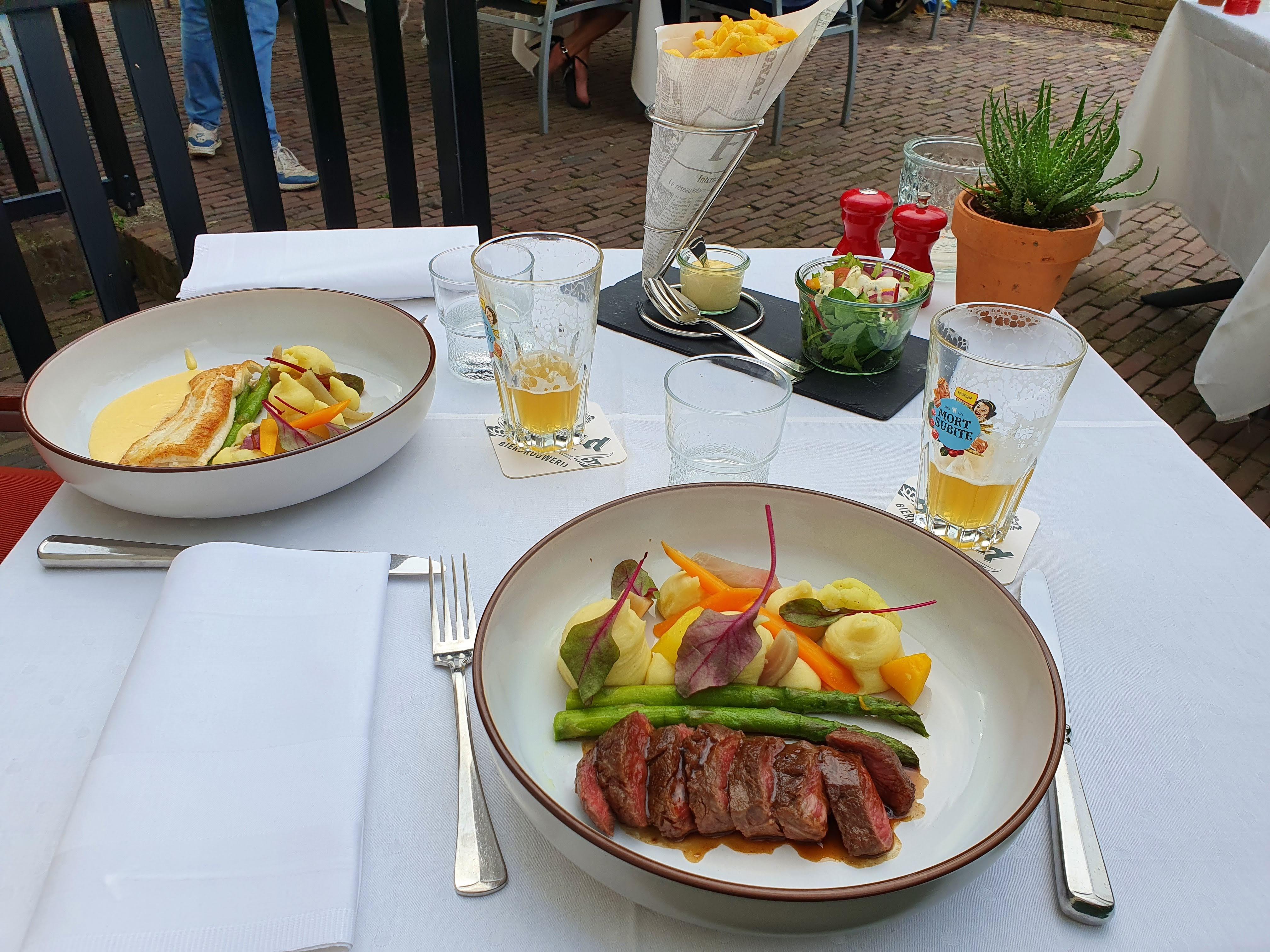 Hoofdgerecht Brasserie Baronne