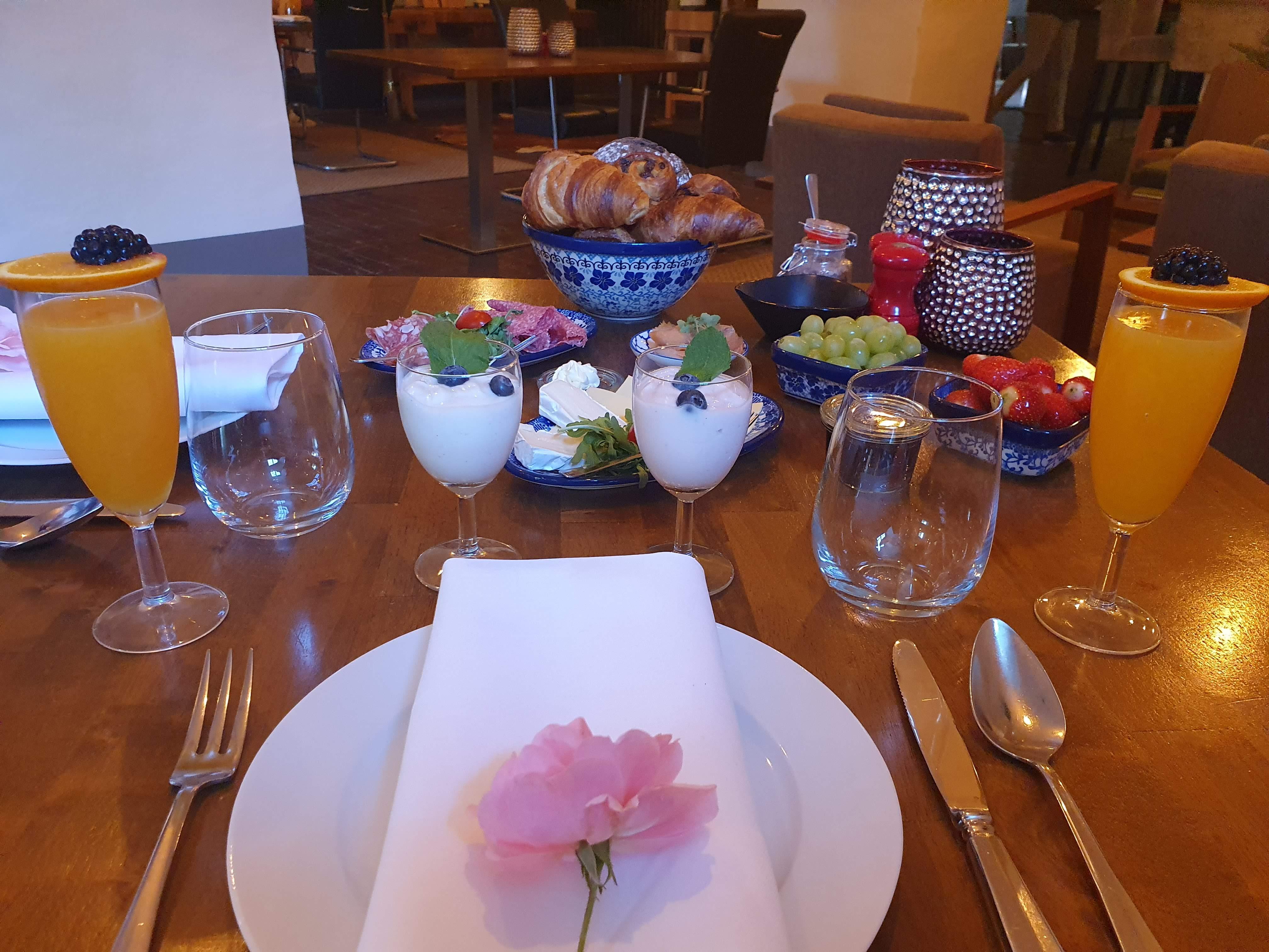 Ontbijt bij Slot Doddendael