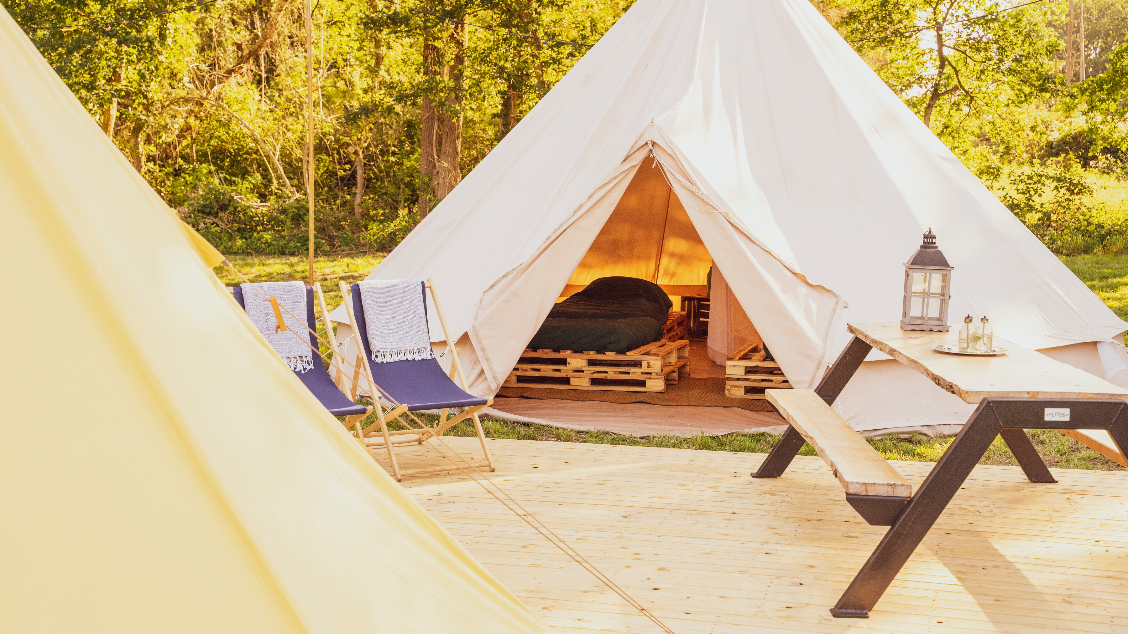 East Nomads pop-up glamping