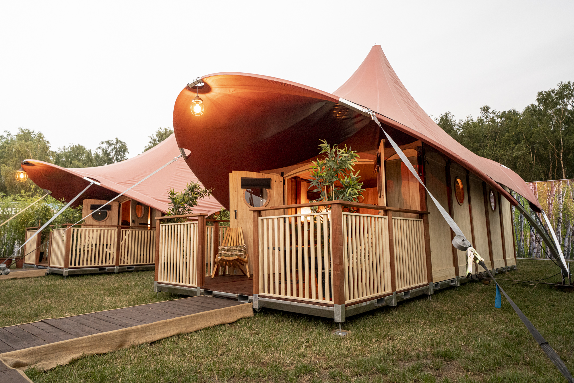 Dormer Cabin Campsolutions Pop-up Glamping