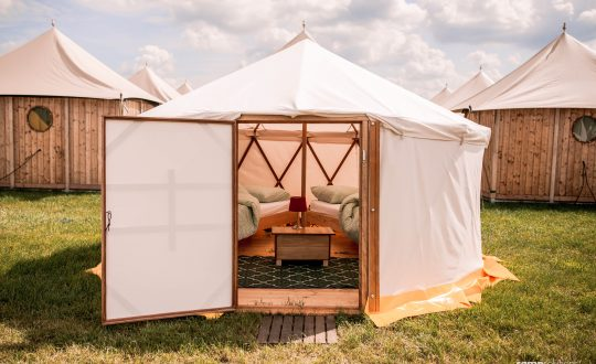 Trend: pop-up glamping
