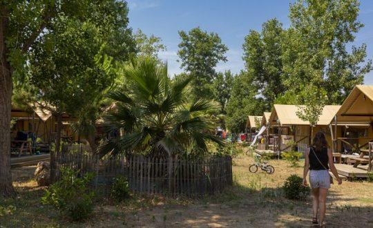 Glampen op vakantieparadijs Domaine La Yole