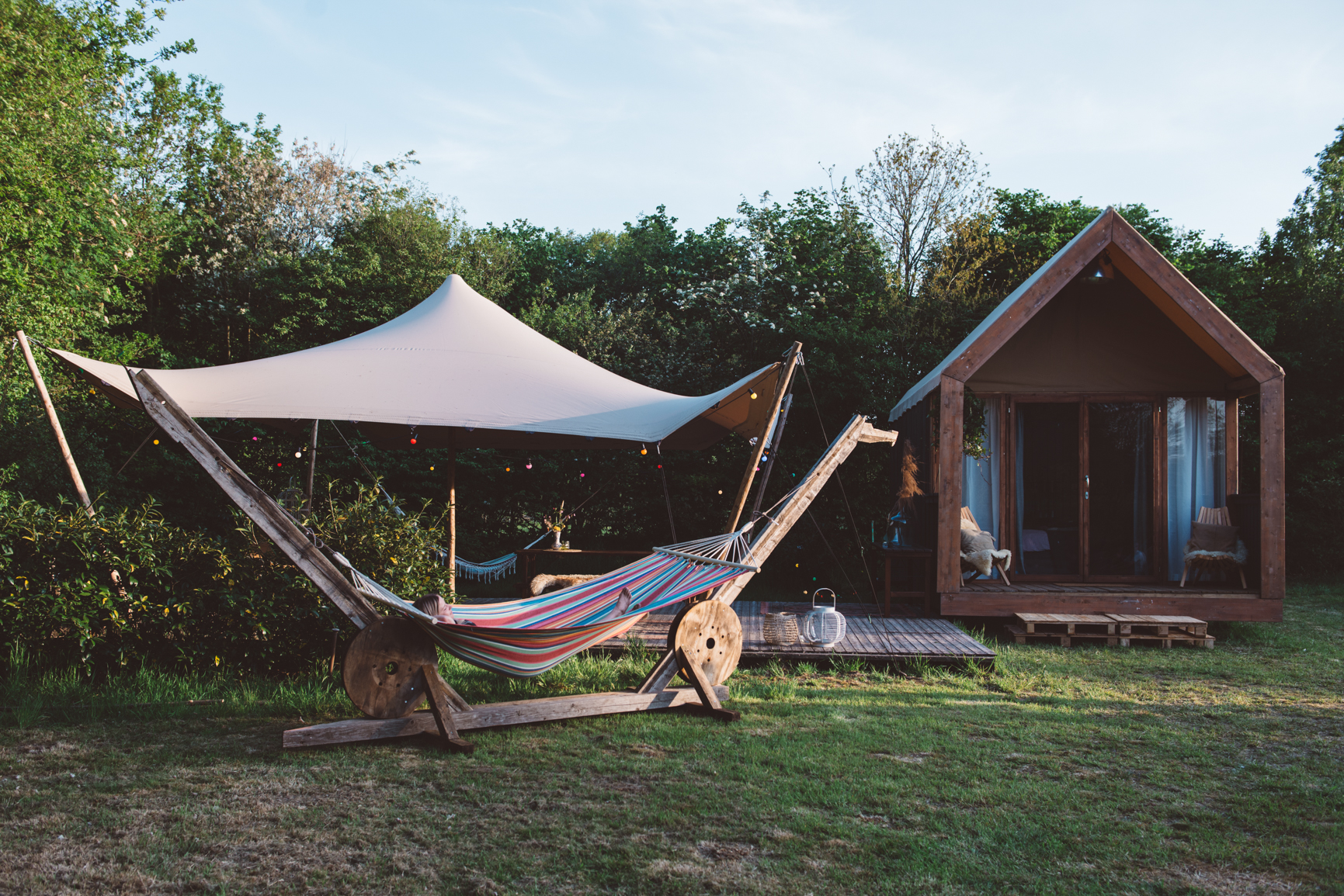 For-rest Glamp pop-up Glamping Campsolutions