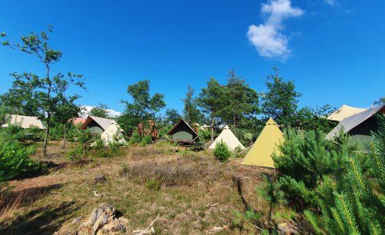 Ons verblijf in de ongerepte natuur bij Glamp Outdoor Camp op de Veluwe