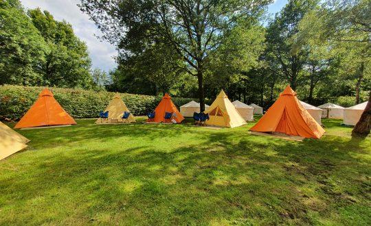 Luxe kamperen in festivalsfeer bij Tijdloos