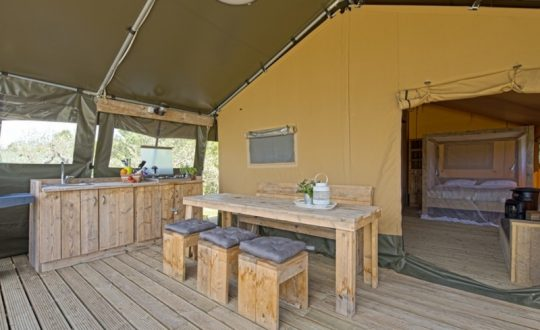 Podere sei Poorte via Lodge Holidays - Glamping.nl