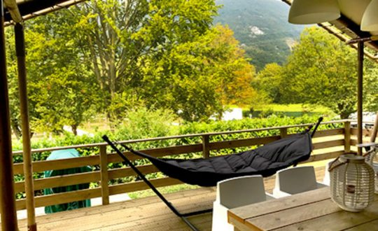 Les 3 Cantons via Lodge Holidays - Glamping.nl